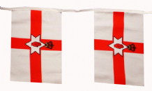 NORTHERN IRELAND BUNTING - 9 METRES 30 FLAGS